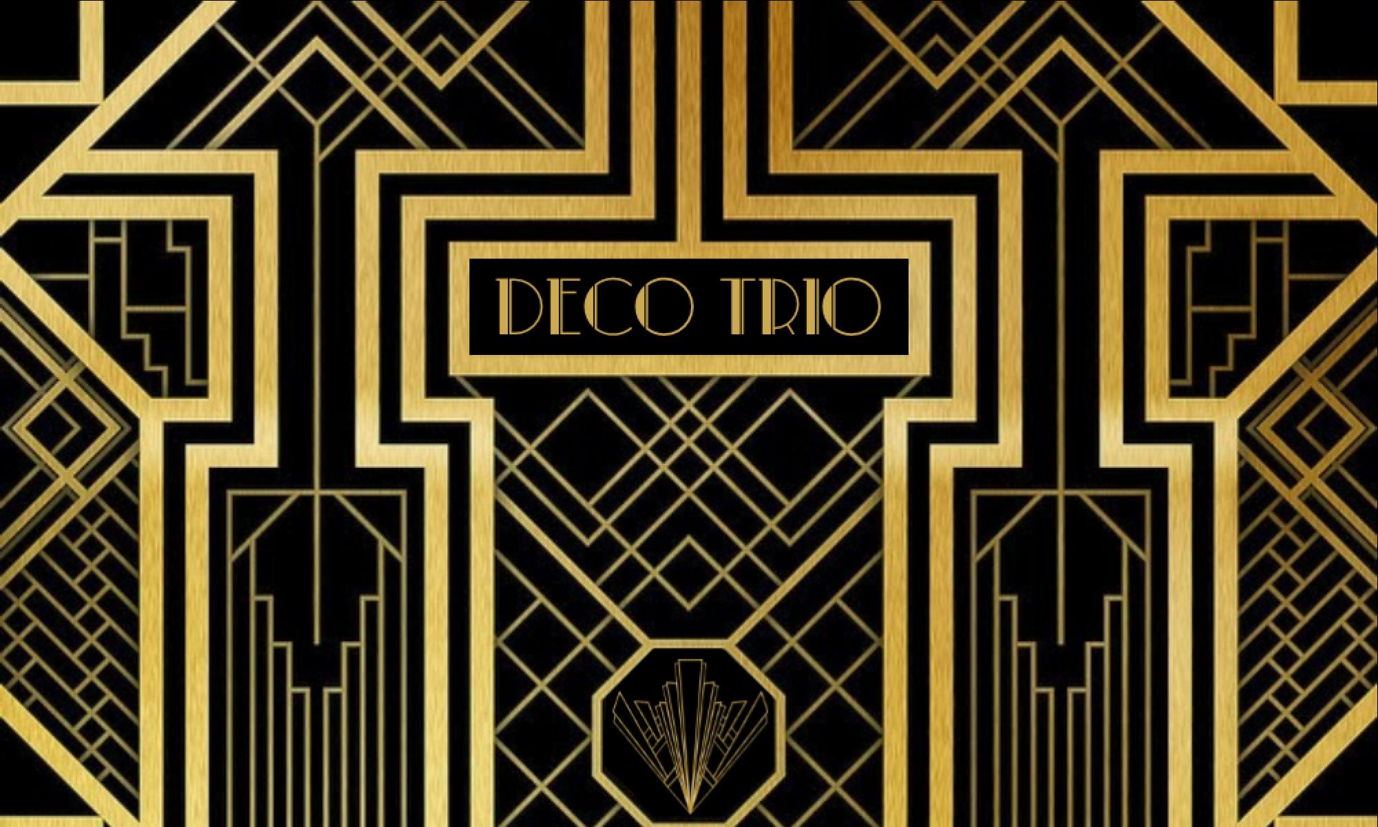 Deco Piano Trio